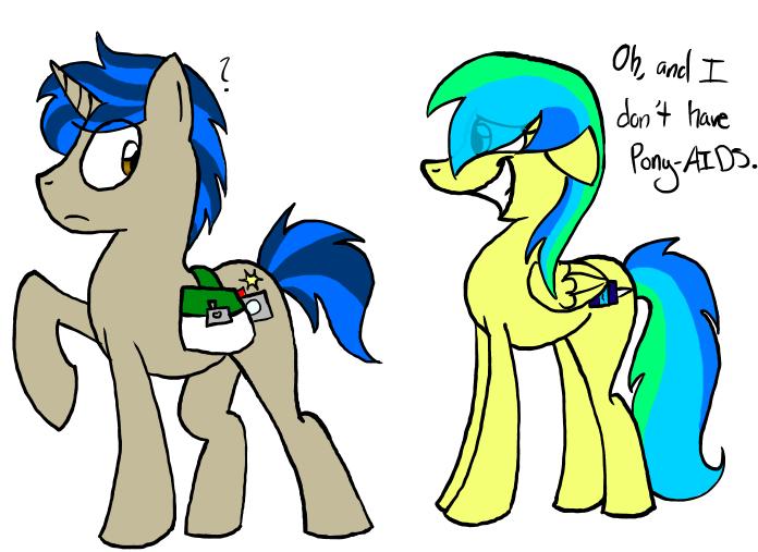 I Hear She Has Pony-AIDS.... by Universal-Tiger