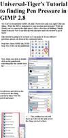 GIMP 2.8 Pen Pressure Help