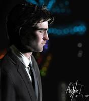 Robert Pattinson Painting by arthurforzus