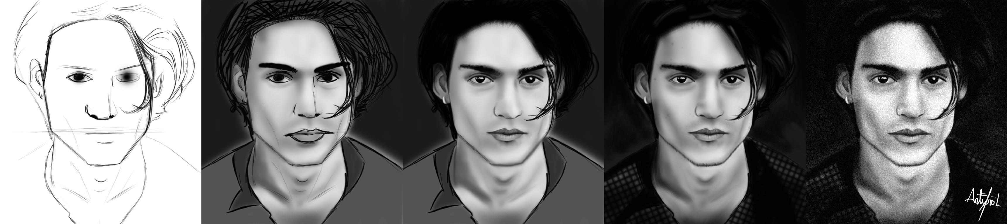 Como dibujar a Johnny Depp How_to_paint_Johnny_Depp_by_arthurforzus