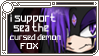 .:.:I Support Sea the Cursed Demon Fox Stamp:.:. by Yin-YangJewel