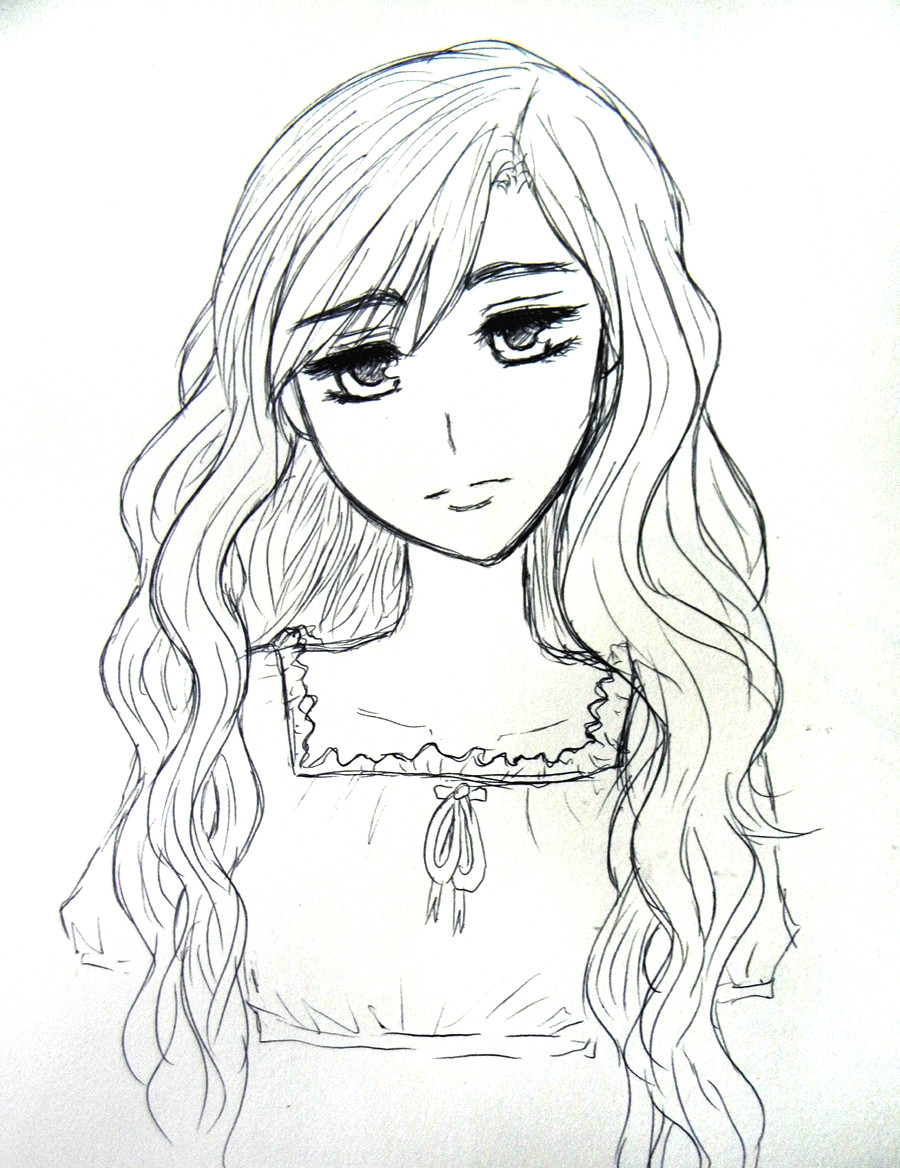 Anime Curly Hairstyles For Girls