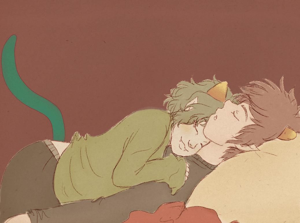 Katnep Cuddles by Natsunohuyana