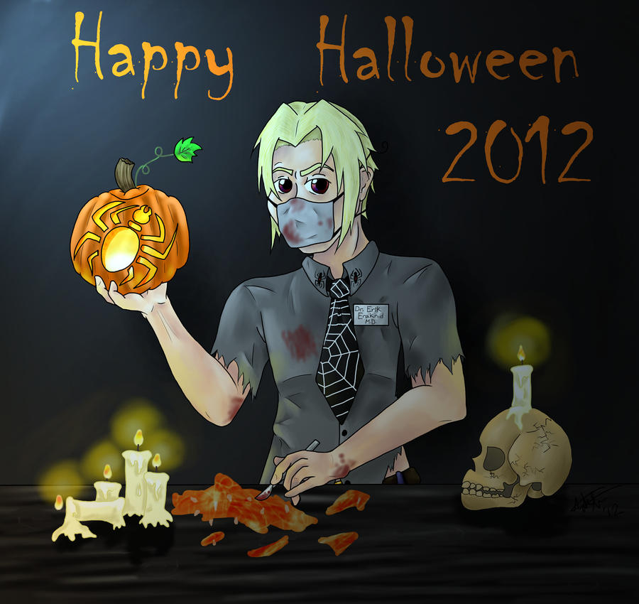 Happy Halloween 2012! by Sora-Horsey