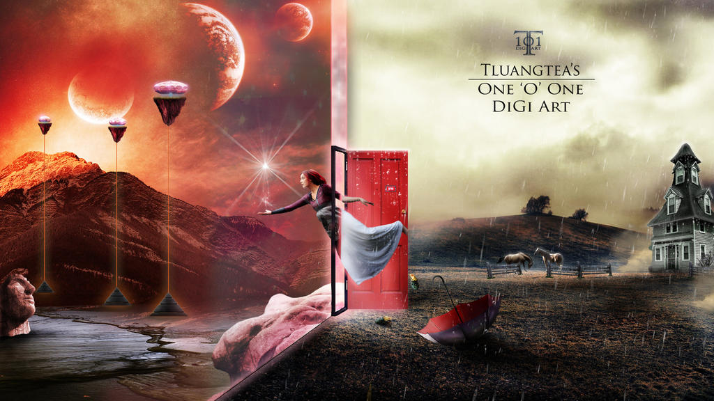 The Red Door by Tluangtea