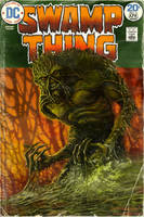 Swamp Thing 9 Covered by Ostrander