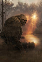 Golden Age of the Swamp Thing by Ostrander