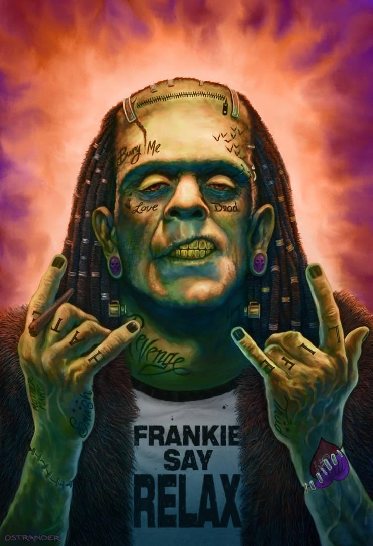 Frankie Say... by Ostrander