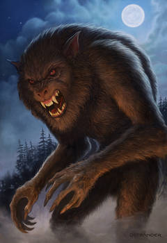 Werewolf By Moonlight