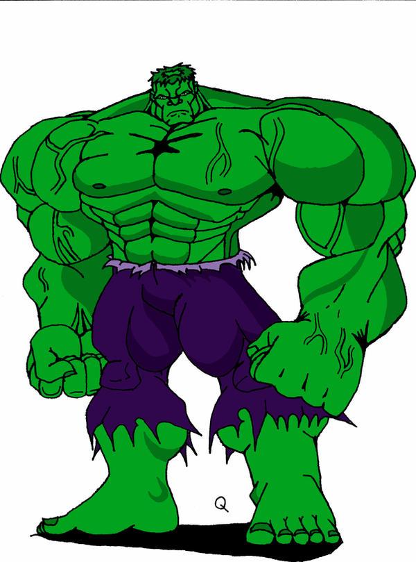 Green Hulk by QBZ on DeviantArt