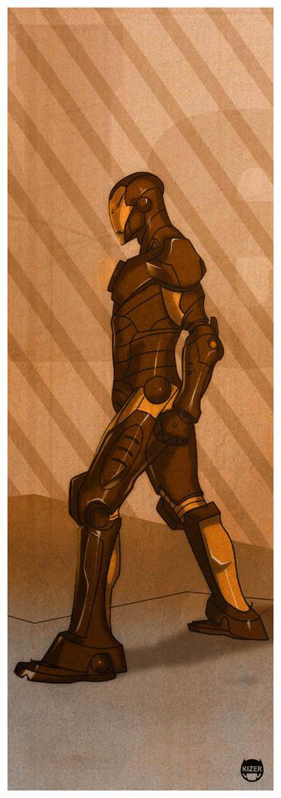 Tony Stark by CoranKizerStone