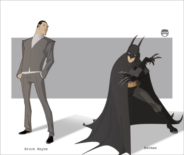 Bruce......Bats by CoranKizerStone