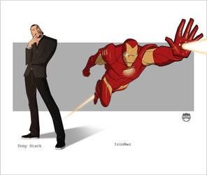Stark....IronMan by CoranKizerStone