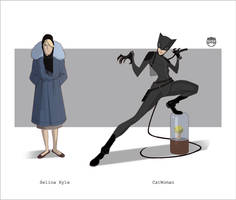 Selina.....CatWoman by CoranKizerStone