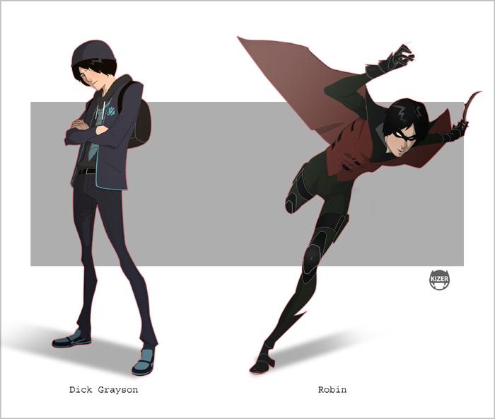 Grayson.........Robin by CoranKizerStone