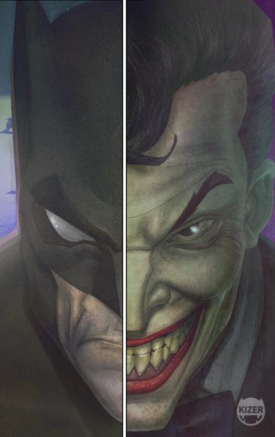Bats and Jokers Closeup by CoranKizerStone