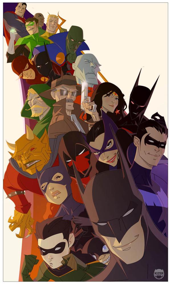 Strange Bat Fellows by kizer180