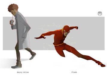 Allen......Flash by CoranKizerStone