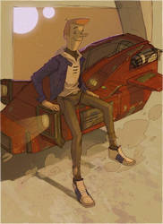 Meet George Jetson by CoranKizerStone