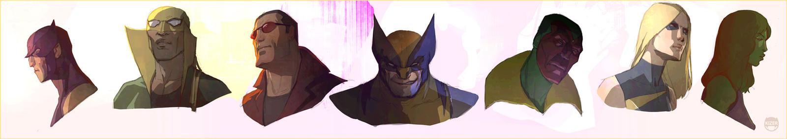 Some U know.....Avengers.agian by CoranKizerStone