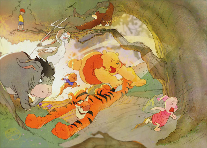Image Result For Eeyore With Tigger