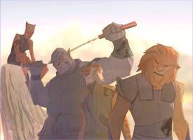 THE ThunderCats by CoranKizerStone