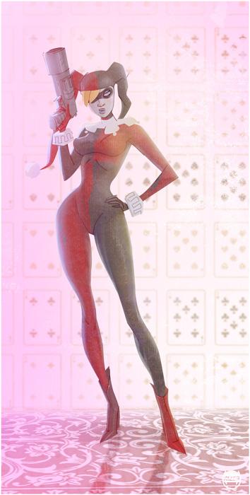 Miss Quinzel by CoranKizerStone