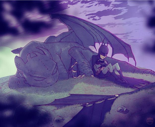 Night Knight by CoranKizerStone