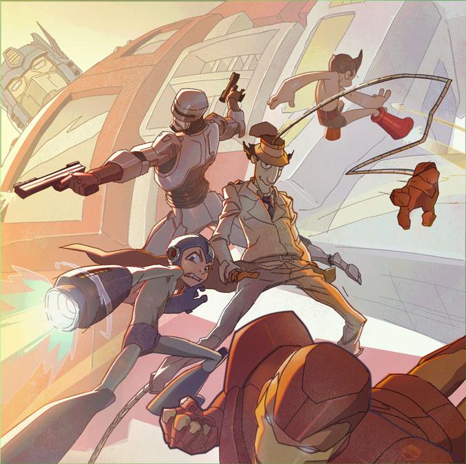 The Big Guns by CoranKizerStone