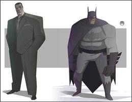 Bruce........The Batman by CoranKizerStone
