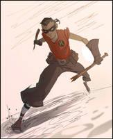 Rockabilly Robin by CoranKizerStone