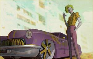 Rockabilly Joker by CoranKizerStone