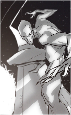Silver Surfer by CoranKizerStone