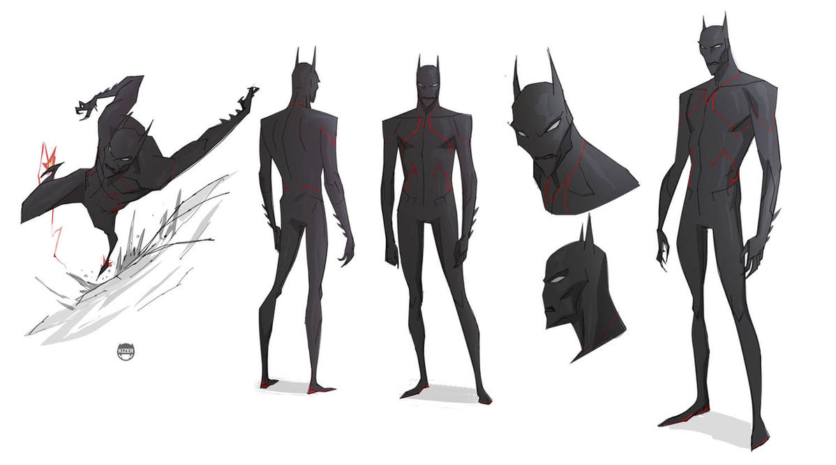 Batman Beyond by CoranKizerStone