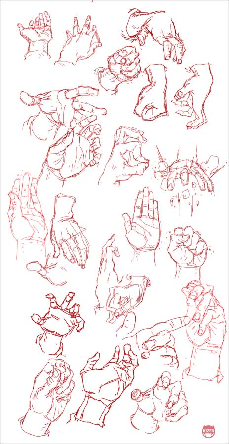 Hand Study by CoranKizerStone on DeviantArt
