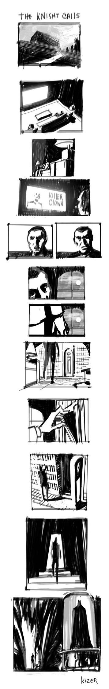 The Knight Calls by CoranKizerStone