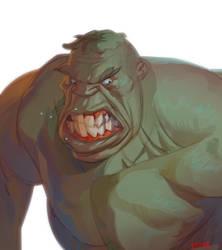 Hulk Mad by CoranKizerStone