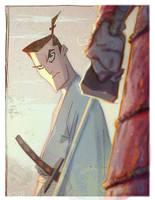 Stare of the Samurai