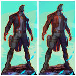 Star-Lord designs