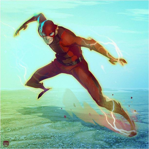 Flash by CoranKizerStone