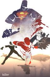 Justice League by CoranKizerStone