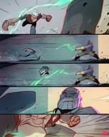Popeye Vs Thanos by CoranKizerStone