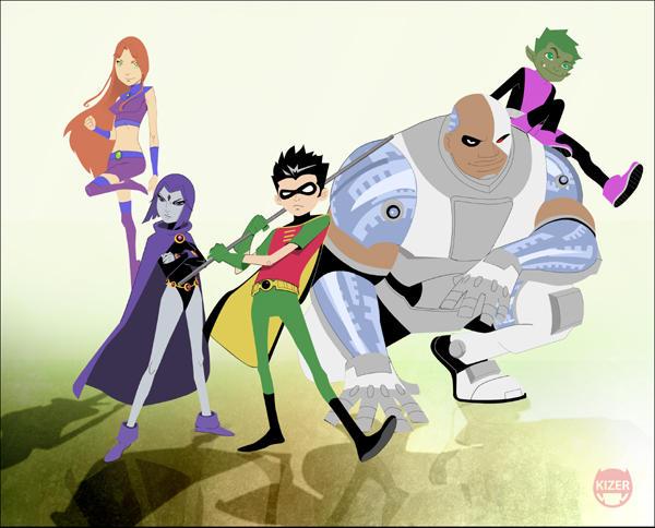 Teen Titans by CoranKizerStone