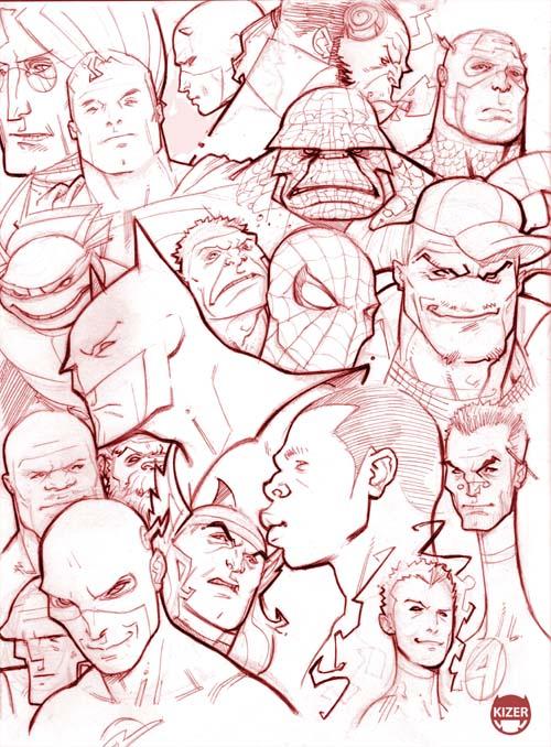 Some u Know....Sketchbook prev by CoranKizerStone