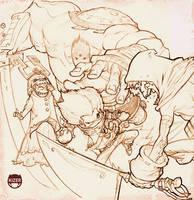 Bombface n Battle by CoranKizerStone