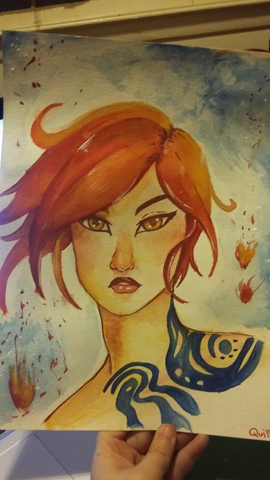 Fire Hawk by BeraChan