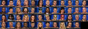 WWE WrestleMania 21 Roster