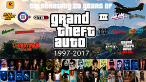 20 Years of Grand Theft Auto Wallpaper