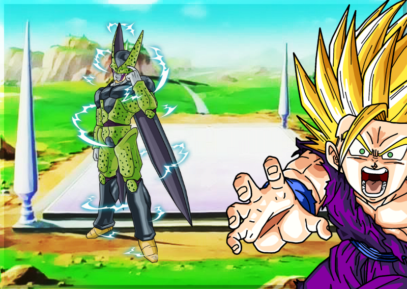 Cell Games Saga By Yoink17 On DeviantArt