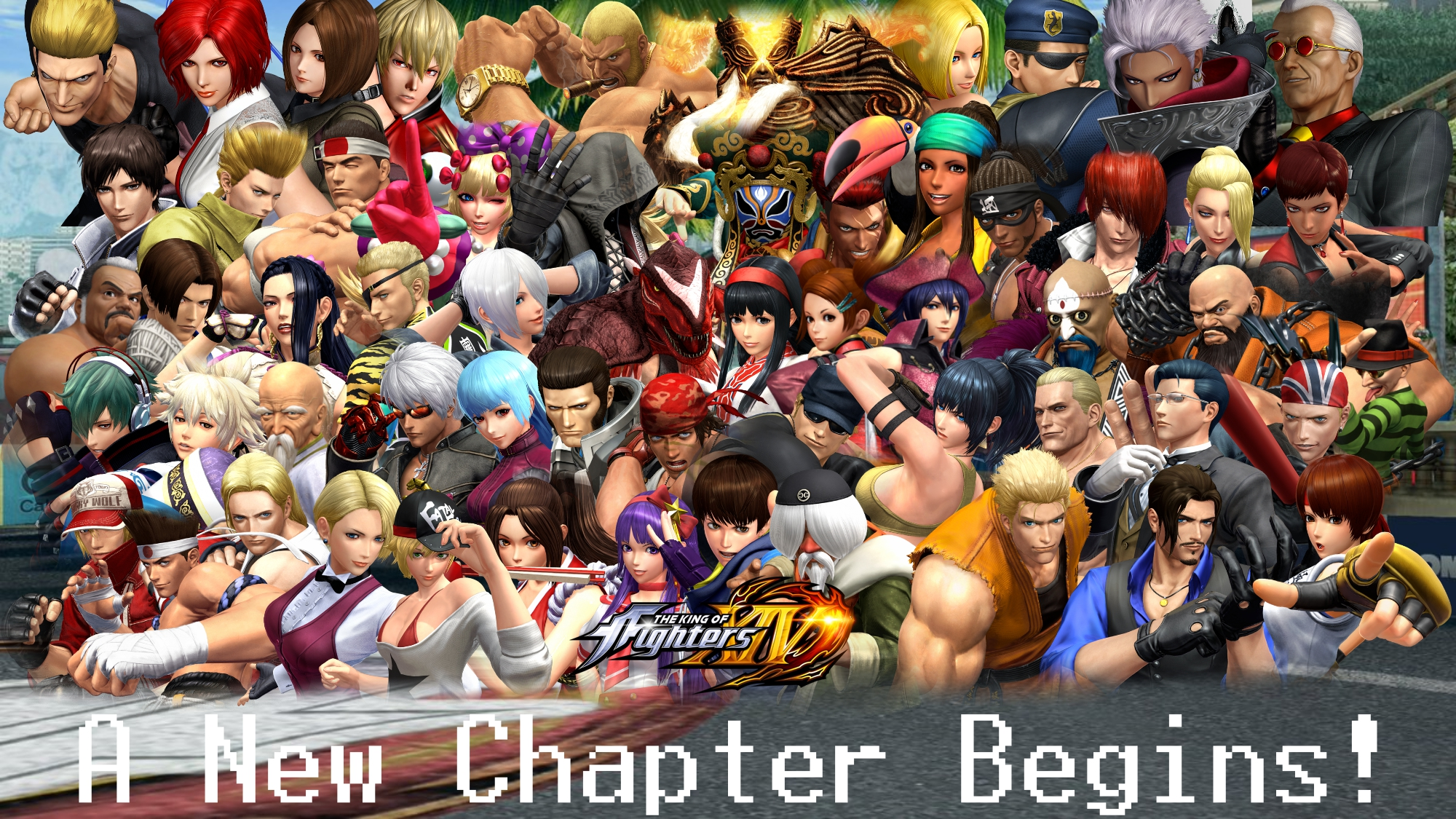 The King Of Fighters Xiv Roster Wallpaper By Yoink17 On Deviantart